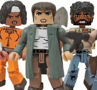 Get an Early Look at New Walking Dead Merchandise from Diamond Select Toys Including Minimates Series 5