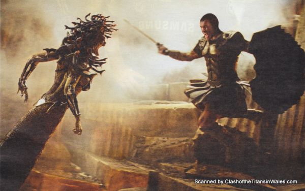 Better Look at Medusa in Clash of the Titans