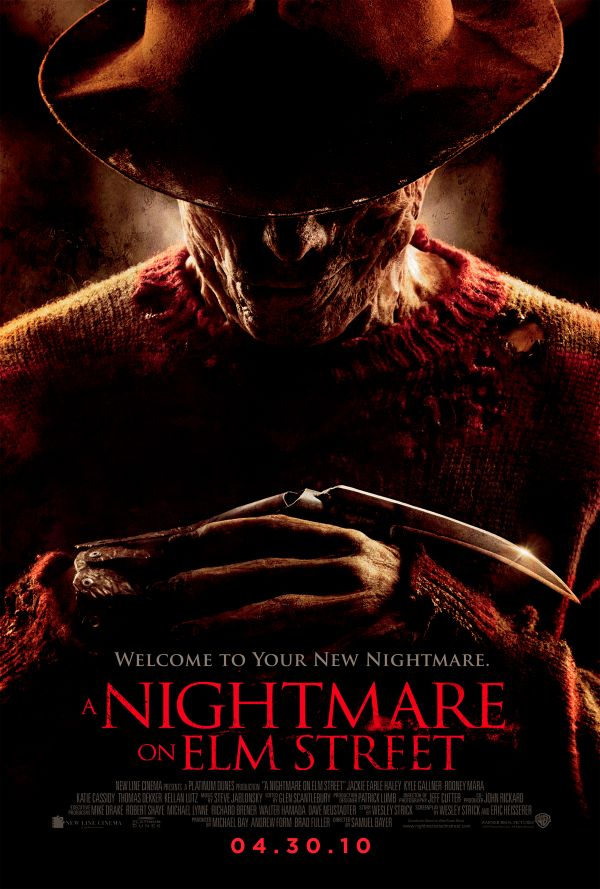 A Nightmare on Elm Street 2010 One-Sheet (click for larger image)