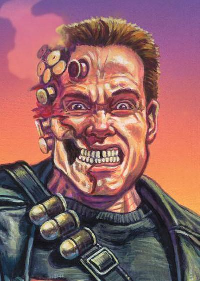 Well ... He Said He'd Be Back! Schwarzenegger Returning to the Silver Screen
