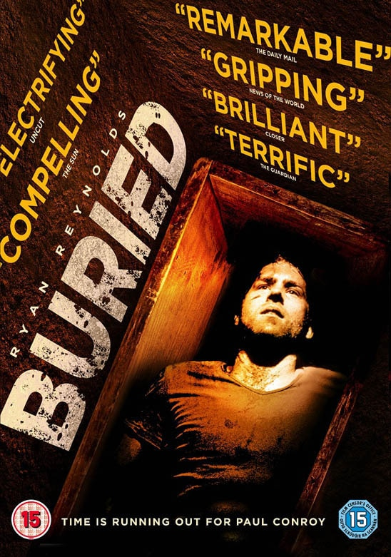 UK Readers – Win Buried on DVD!