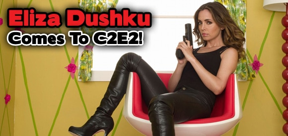 Eliza Dushku and True Blood Stars Sam Trammell, Kristin Bauer, Brit Morgan Added to 2011 C2E2 Lineup
