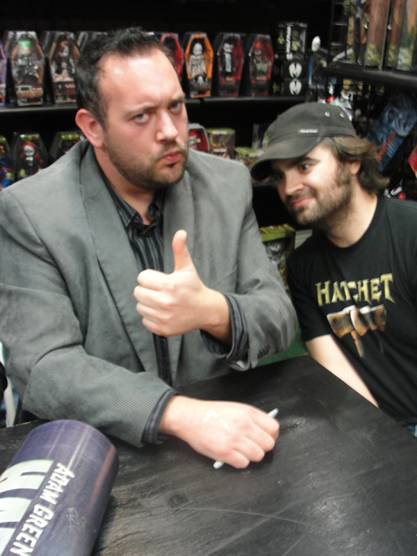 Exclusive Event Coverage: Hatchet II Signing and Release at Dark Delicacies