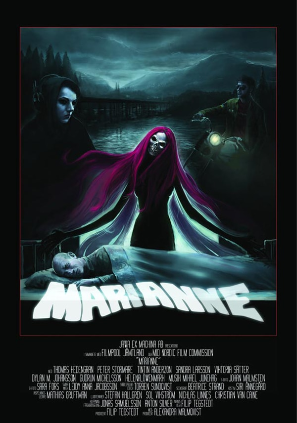 Badass Trailer and One-Sheet for New Swedish Horror Flick Marianne
