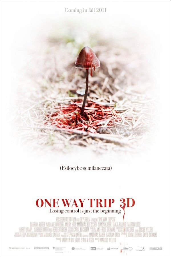 Latest One Way Trip 3D One-Sheet Gives us The Munchies