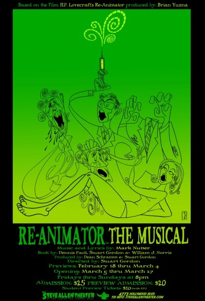 Re-Animator: The Musical is Upon Us!