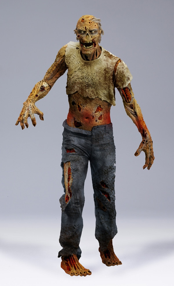 Get Your First Look at McFarlane's Walking Dead Lurker