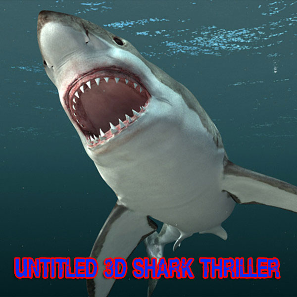 Several Behind-the-Scenes Videos from David R. Ellis' Untitled 3D Shark Thriller