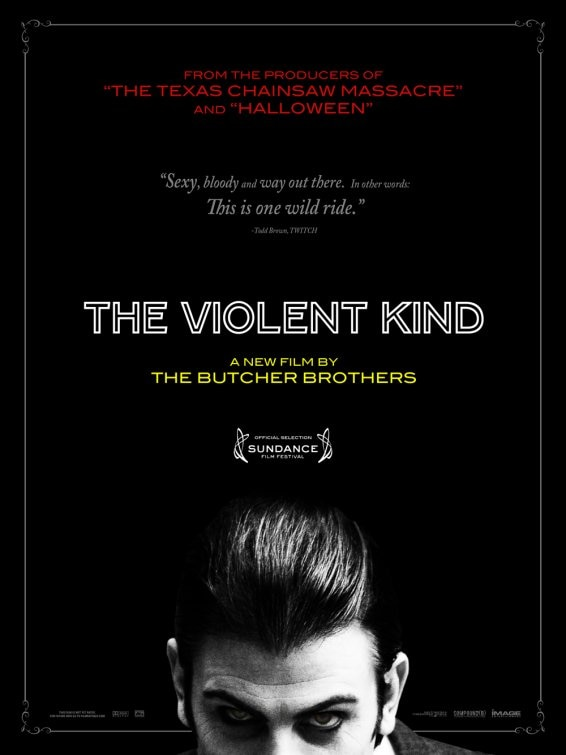 A New One-Sheet of The Violent Kind