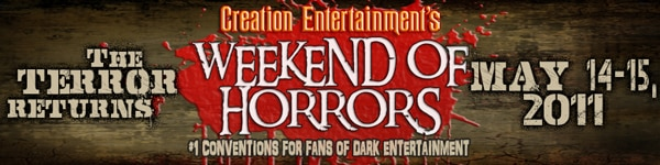 Guest List Taking Shape for Creation's May 2011 Weekend of Horrors