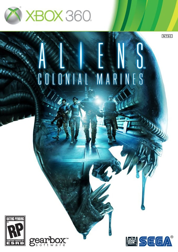 Have a Close Encounter with the Aliens: Colonial Marines Box Art