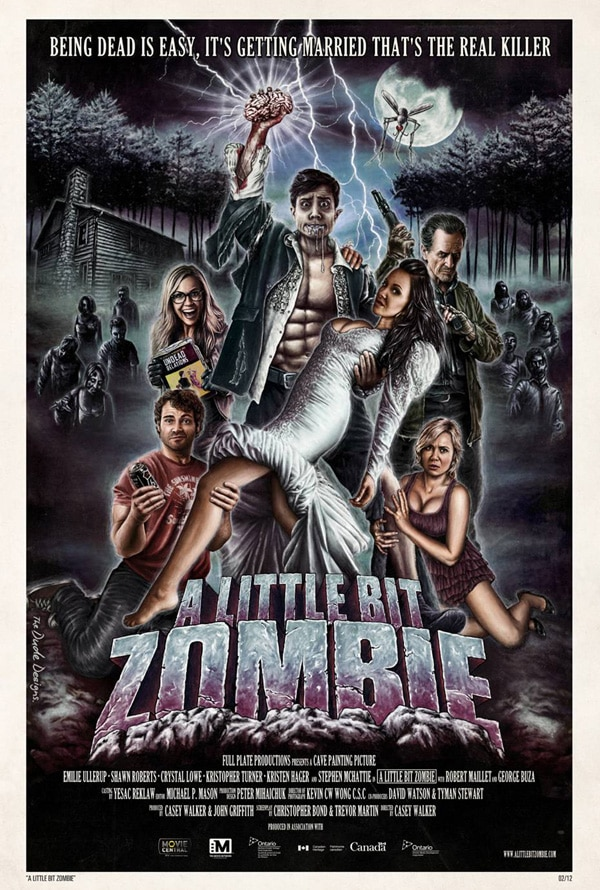 A New Poster Arrives for A Little Bit Zombie