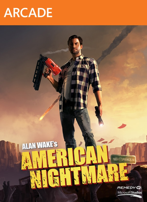 Launch Trailer for Alan Wake: American Nightmare and the Original Alan Wake Steams Up Your PC!
