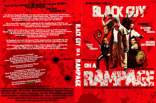 Black Guy on a Rampage Distribution News, Trailers, and New Stills