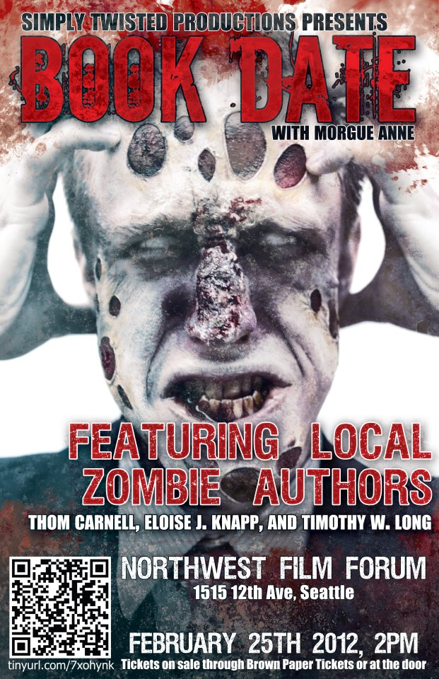 Zombie-Themed Book Date at Seattle's Northwest Film Forum