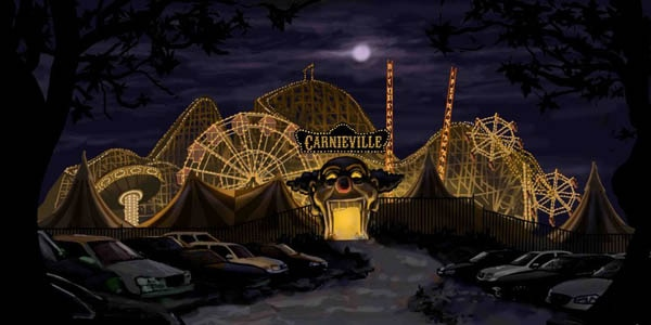 We've Got the New Trailer For CarnieVille ... Coulrophobics Beware!
