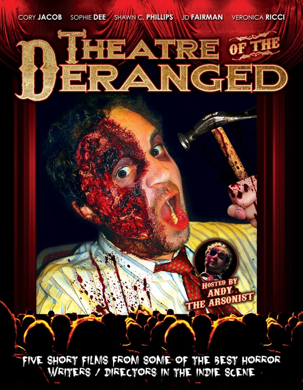 DVD Art and Release Info for Theatre of the Deranged Anthology Film