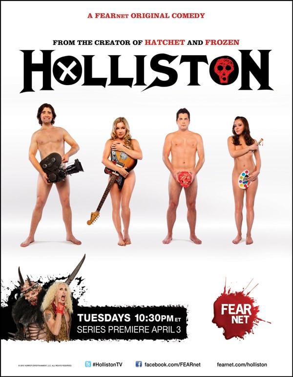 Exclusive Interview: Adam Green, Joe Lynch, Corri English and Laura Ortiz Discuss Upcoming FEARnet Sitcom Holliston