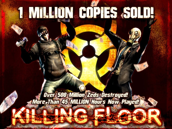 Killing Floor Sells Over One Million Copies; Special Discount Available