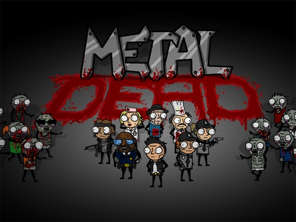 Zombies Pack A Punch in Metal Dead