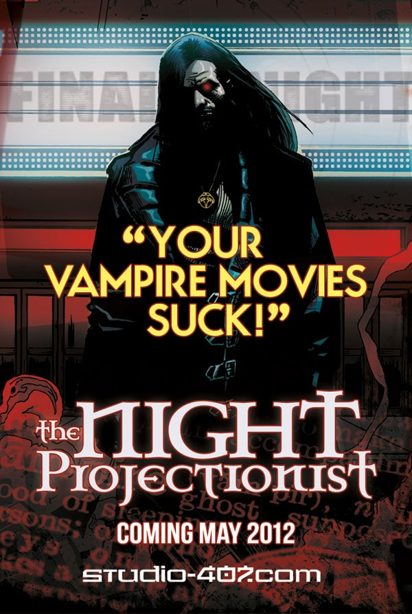 Take Your First Look at The Night Projectionist, Coming Soon from Studio 407