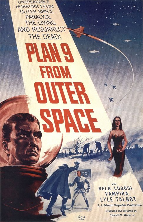 Plan 9 From Outer Space Hitting Blu-ray