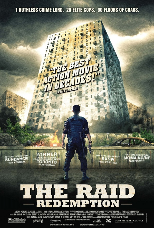 The Raid - Win a Signed One-Sheet!