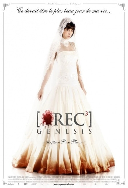 New REC 3: Genesis One-Sheet - Here Kills the Bride!