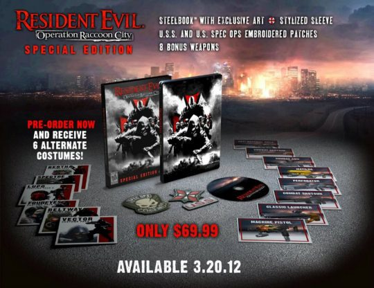New Horrors Revealed in Resident Evil: Operation Raccoon City Triple Impact Trailer