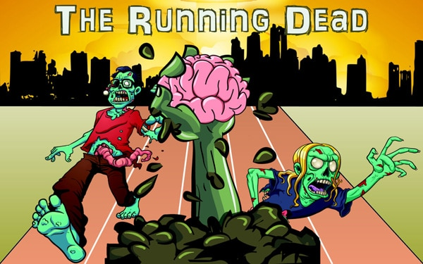 The Zombie Races Have Begun in The Running Dead