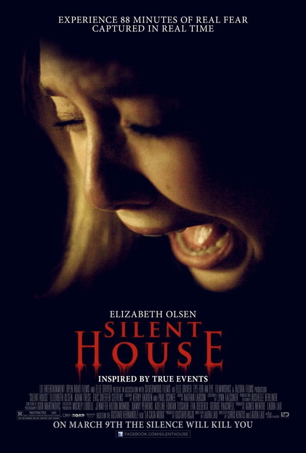 Official Silent House Poster Comes Screaming In