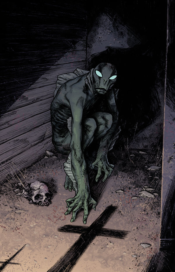 Dark Horse Comics Beginning the Three-Part Abe Sapien: Dark and Terrible Series in April
