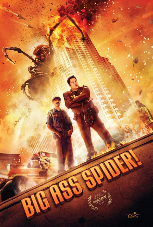 SXSW 2013: Explosive One-Sheet for Big Ass Spider! Arrives