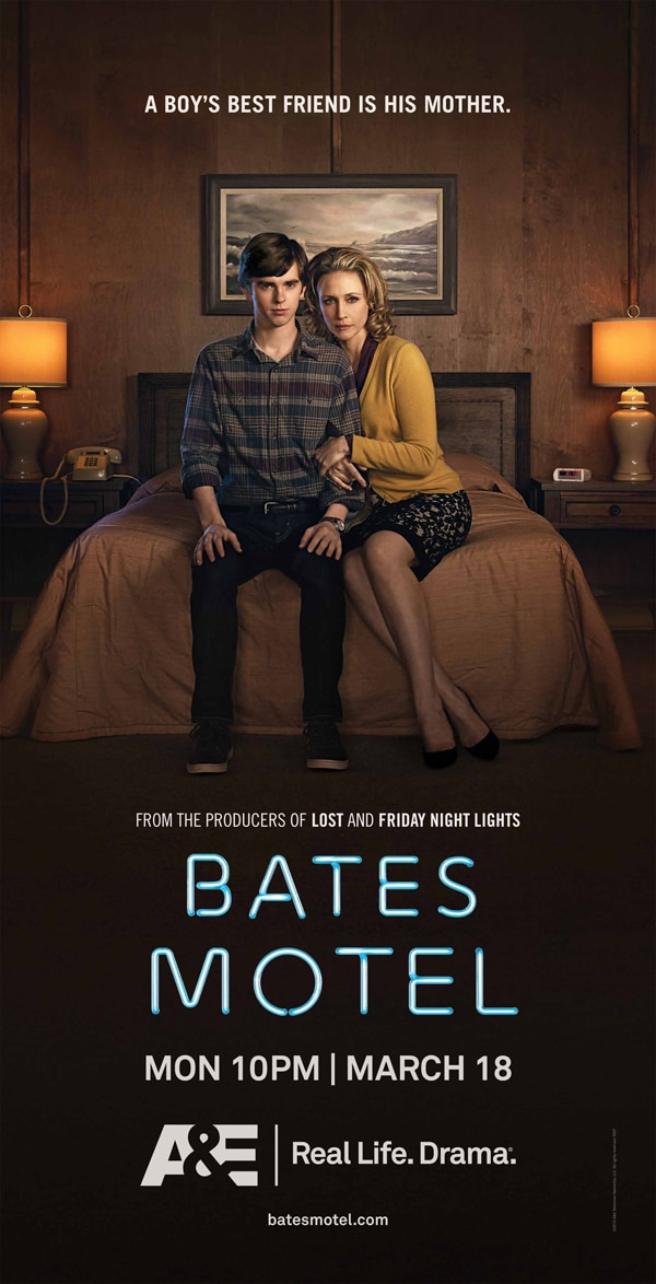 New Artwork and Teaser for Bates Motel Filled with Motherly Love