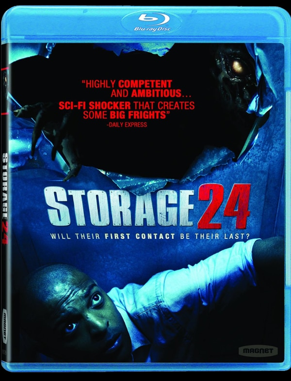 Official Specs and Artwork for Magnolia's Home Video Release of Storage 24