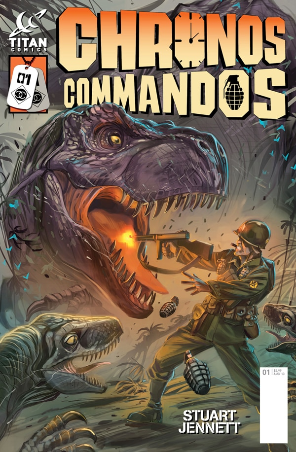 Chronos Commandos: Dawn Patrol Pits Nazis Against Dinosaurs Against Albert Einstein with a Machine Gun