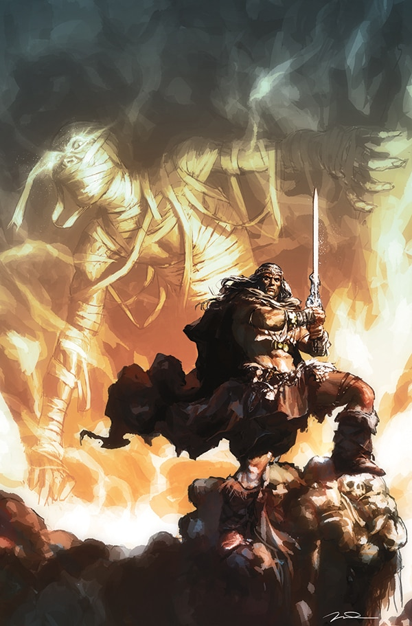 Dark Horse Is Going Barbarian with King Conan: The Hour of the Dragon This May