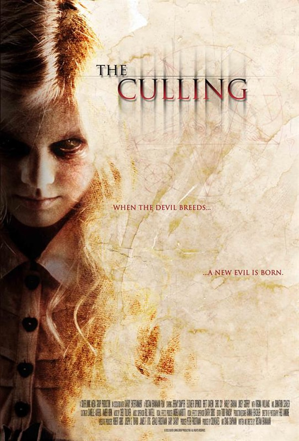 EFM 2013: A New Evil Is Here in the One-Sheet for The Culling