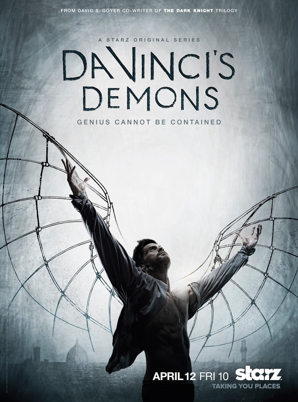 Starz Unveils its Key Art for Da Vinci's Demons
