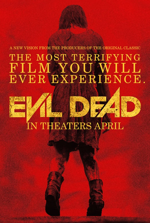 New Evil Dead Variant Poster Gets the Red Out!