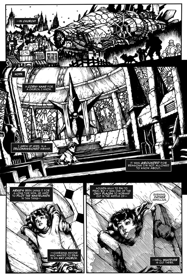 A Sneak Peek of Alterna Comics' Hoodlum Issue #1