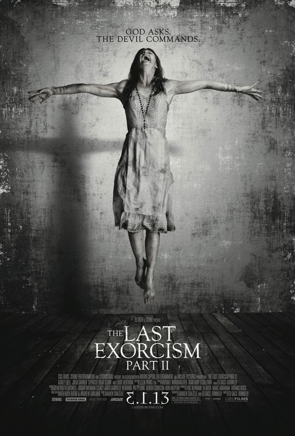 Get Crucified by New Last Exorcism Part II Poster