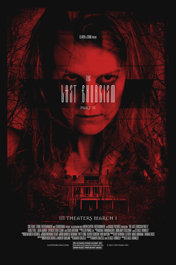 New One-Sheet for The Last Exorcism Part II is All Red in the Face