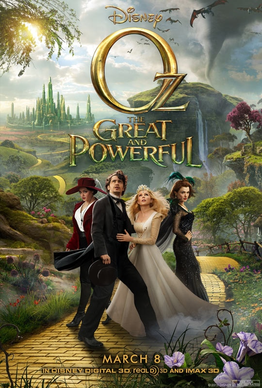 Oz The Great and Powerful Sequel Ready to Follow the Yellow Brick Road