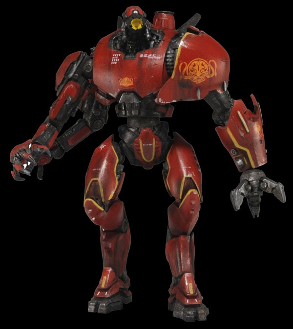 First Look at NECA's Pacific Rim Collectibles - USA's Gipsy Danger and China's Crimson Typhoon