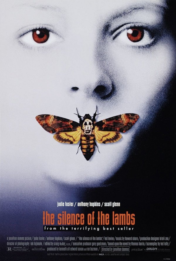 Doctor Gash's Top 10 Greatest Horror Movies... EVER! #4 - The Silence of the Lambs