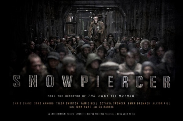 Crowded First Look at the Snowpiercer Quad One-Sheet