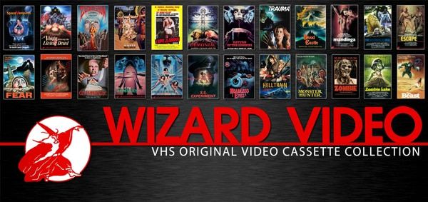 Full Moon Unearths Wizard Video Collection of Rare Oversize VHS Boxes; Available with Authentically Duplicated Films Beginning February 12th