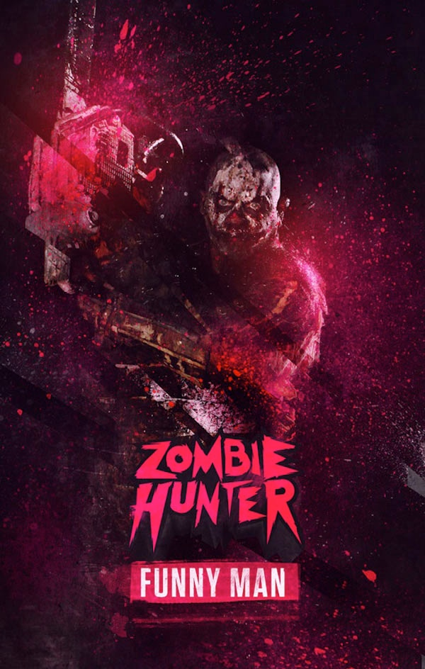 New Posters and Behind-the-Scenes Footage from Zombie Hunter