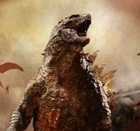 Godzilla Attacks in New Clip